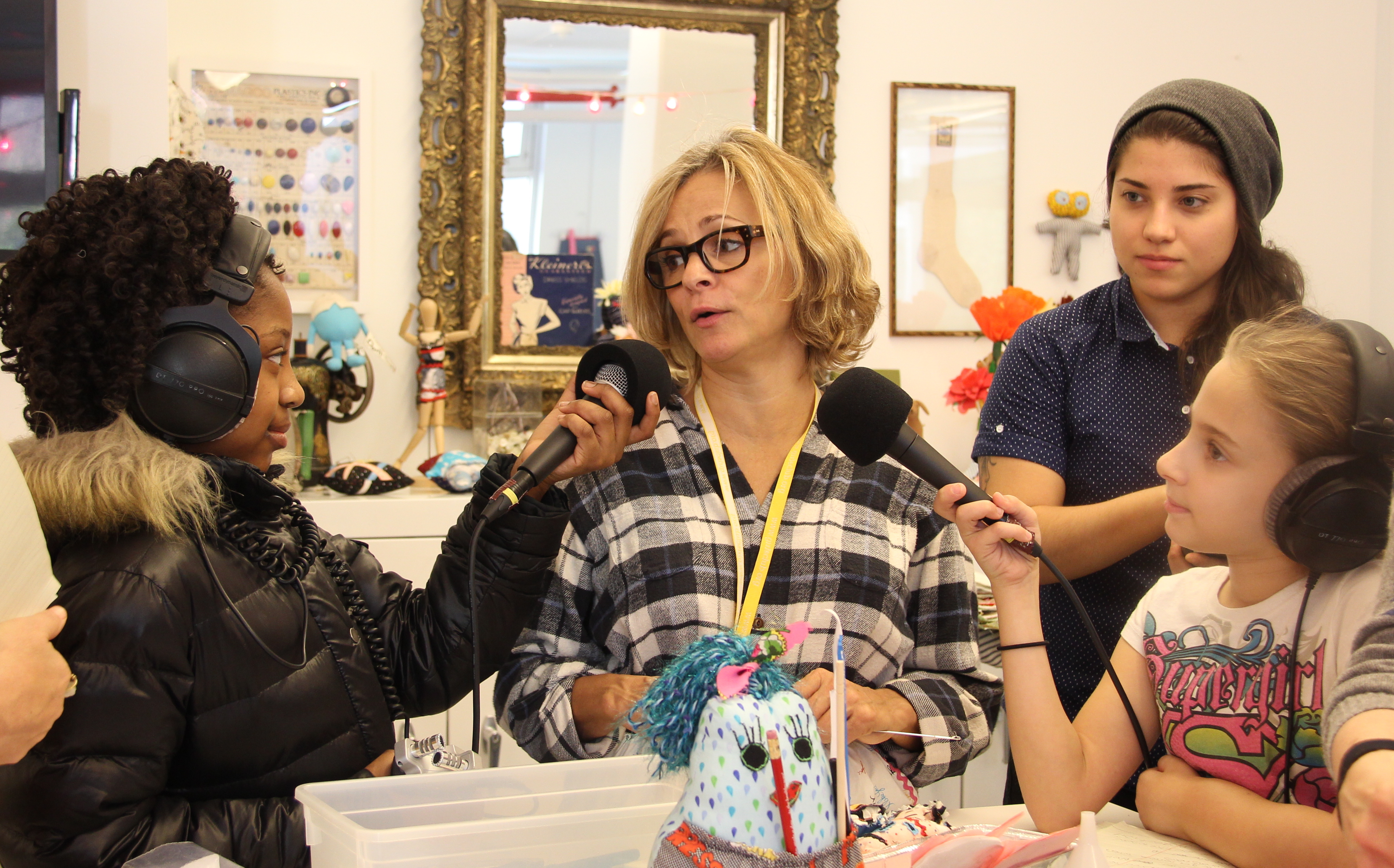 "Amy Sedaris Interview and Girl's Club ""Mellow Kitty"" Launch"