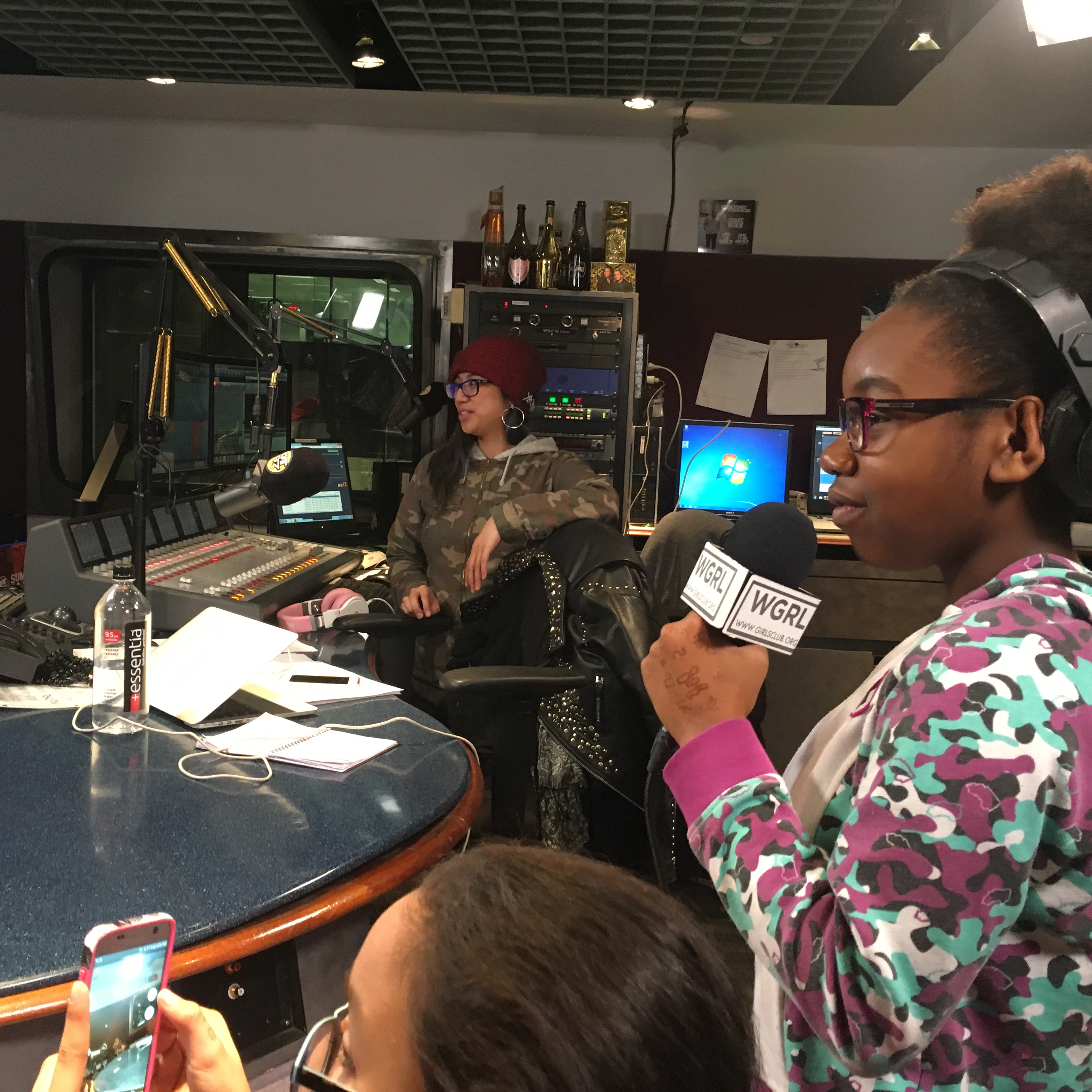 Nessa from HOT97 visits WGRL